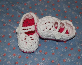 Nana's Mary Jane Booties Pattern