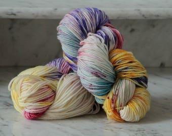 Sunny Skies Handpainted Superwash Merino Wool Yarn