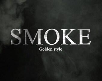 End screen video intro or outro, Smoke, logo