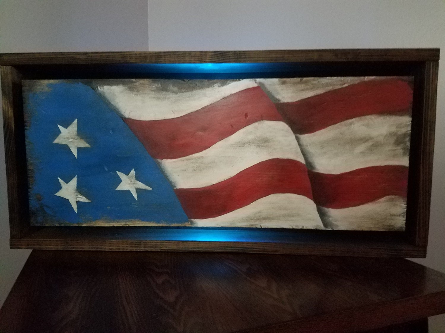 wooden flag reclaimed wood wooden wall decor wall art