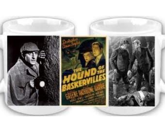 Sherlock Holmes Coffee Mug The Hound of The Baskervilles