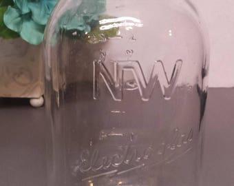 NW Electroglas Mason Jar