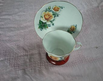 Royal Dover China. Bone China. Made in England.