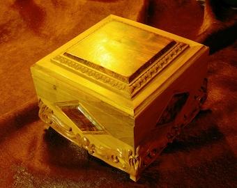 Carved casket