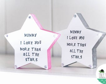 Freestanding Mother's Day Star