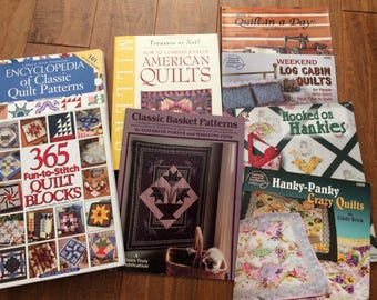 Collection of quilting books