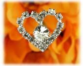 Clear & Diamond Floral Bouquet Picks Set of 6