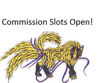 Commission Slots Are Open!