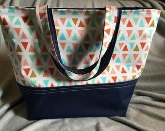 Large tote bag, sturdy tote bag