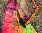 Festie Print Dog Collar and Matching Bandana
