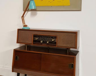 sold midcentury vintage retro empress radiogram spares and repairs