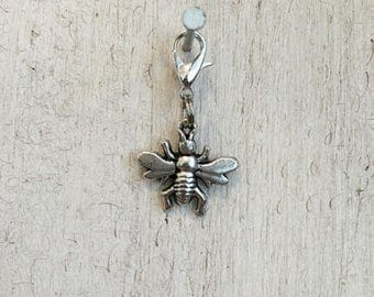 French Bee Charm