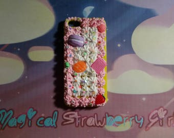 Kawaii Decoden Frosting iPhone 5/5s Case #1