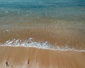 Beach on the coast of Maine