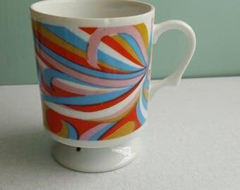 Vintage 1970s Discotheque Mug