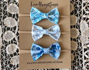 Blue Skys listing for three headbands