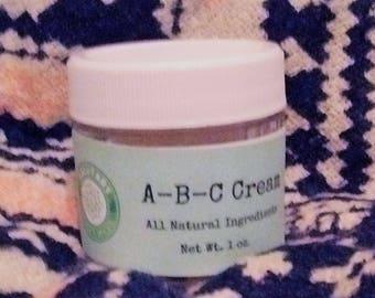 Sample Size A-B-C  Antibacterial Cream
