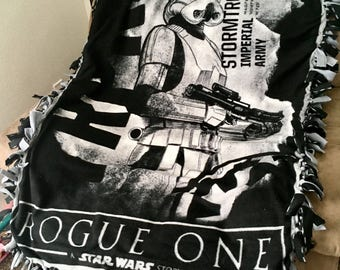 Star Wars Tie Knot Blanket