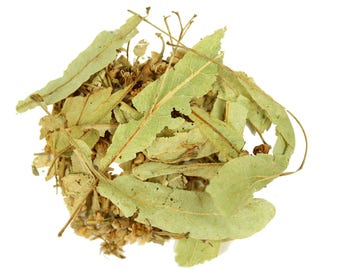 Linden Leaves Flowers Dried (Tilia Tea) Loose Herbal Tea 75g (2.6oz) Excellent Quality!
