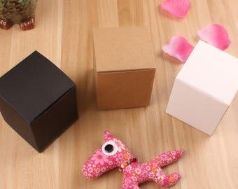 2 x Kraft Paper Gift Box/jam box/wedding favour/cookie box/soap box