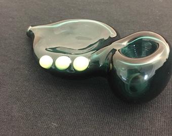 Glass Briar Pipe (Teal)