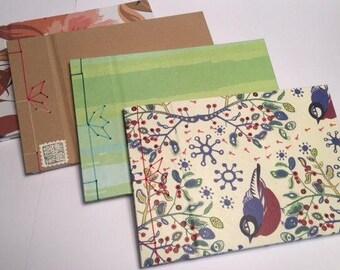Notebook Handmade Japanese Binding different patterns