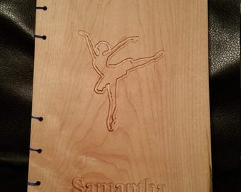 Custom Ballerina Journal/note book with Name