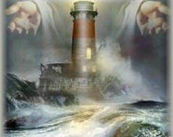 Gods Lighhouse Cross Stitch Pattern***L@@K***
