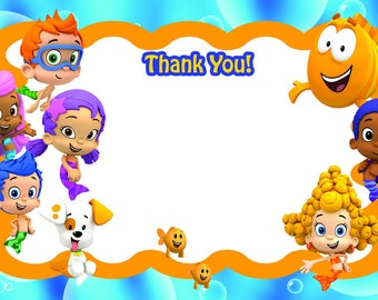 Bubble Guppies Thank You