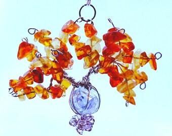 Marble Autumn Tree of Life