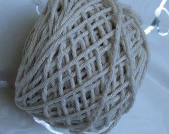Cotton Yarn MiraYarn 50 g/50 m # 1 or Baba # 6 Twine Baker's Twine Cotton Crochet Thread