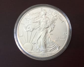 Lot of 5- 2012 Liberty Silver Dollars, Collectible and Uncirculated