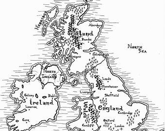 Britain Map