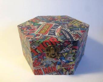 Marvel Collage box