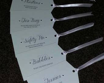 Bridesmaid / Mother of Bride / Groom Gift Tags