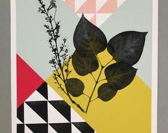 blockprint / prent / poster