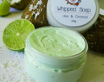Whipped Soap Lime & Coconut