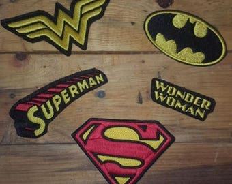 Custom patches Comics, movies and more