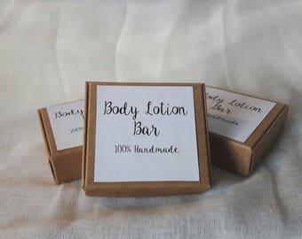 Body Lotion Bar