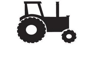 Tractor SVG Digital File