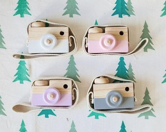 Camera gray decorative wooden