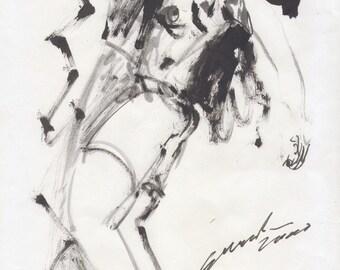 drawing Juan José Gurrola