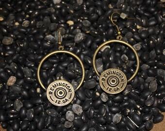 Antique Circle Dangle Earrings