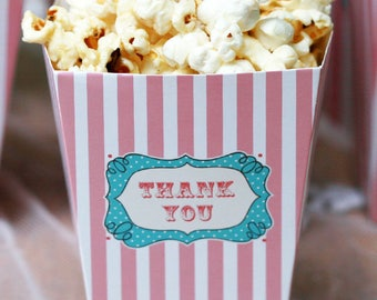 10 Thank You Popcorn Boxes