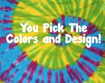 Custom Tie Dye Shirt