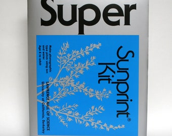 Super Sunprint Kit photosensitive paper