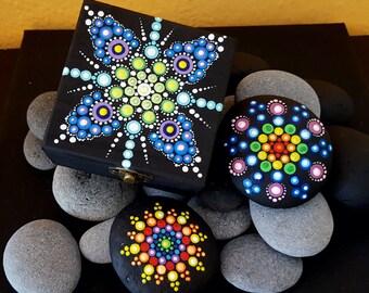 BarbaraMandalaTFS#36  Mandala Multicolor Jewellery Box#Summer 2017