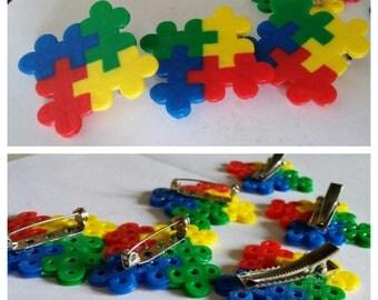 Puzzle Piece Pins