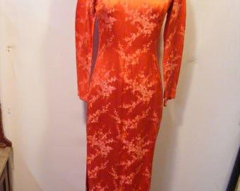 Women's 60s Asian Dress