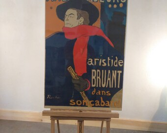 Early Lautrec Style poster